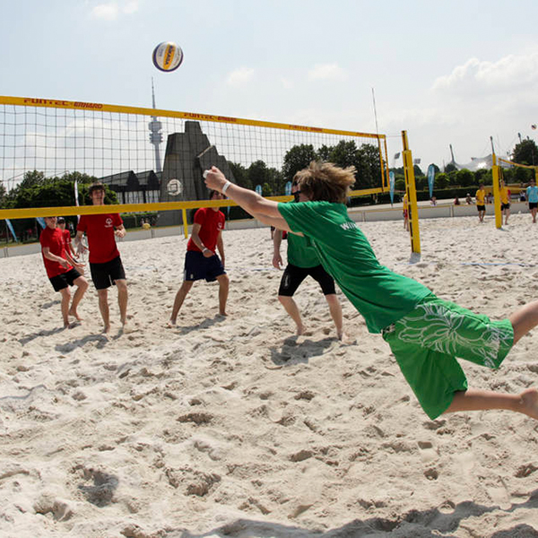 Sportart Beachvolleyball. (Foto: SOD/ Shirin Engel)