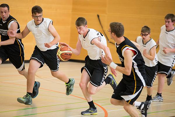 Unified Mannschaften können auch an Wettbewerben teilnehmen. (Foto: SOD/ Florian Conrads)