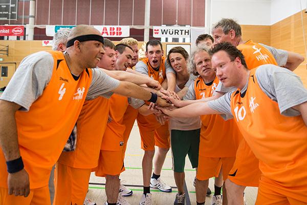 Bei Special Olympics können Menschen mit und ohne Behinderung mitmachen. (Foto: SOD/ Florian Conrads)