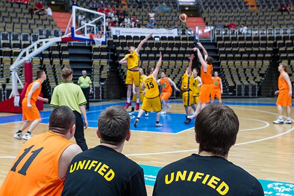 Basketball ist eine beliebte Unified-Sportart. (Foto: SOD/ Stefan Holtzem)