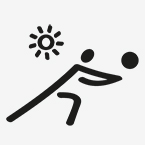Icon für Beachvolleyball