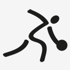 Zeichen für Badminton
