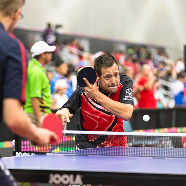 Sportart Tischtennis. (Foto: SOD/Luca Siermann)