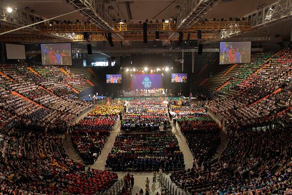 Viele Athleten haben an den Special Olympics München 2012 teilgenommen. (SOD: Florian Conrads)