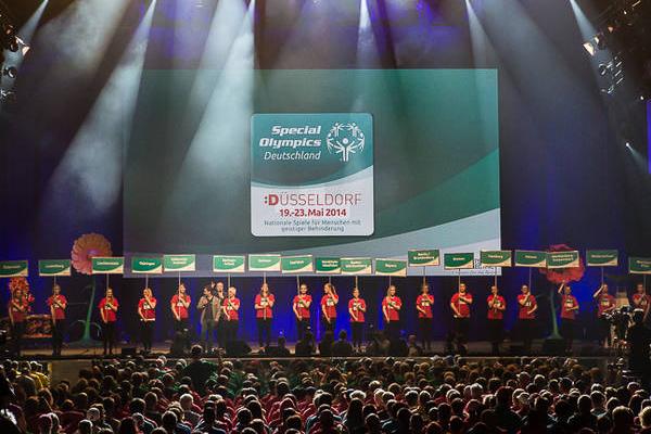 Bei der Eröffnungsfeier sind Athleten aus ganz Deutschland dabei. (Foto: SOD/ Stefan Holtzem)