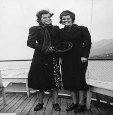 Eunice Kennedy mit ihrer Schwester Rosenary. (Foto: SOI)