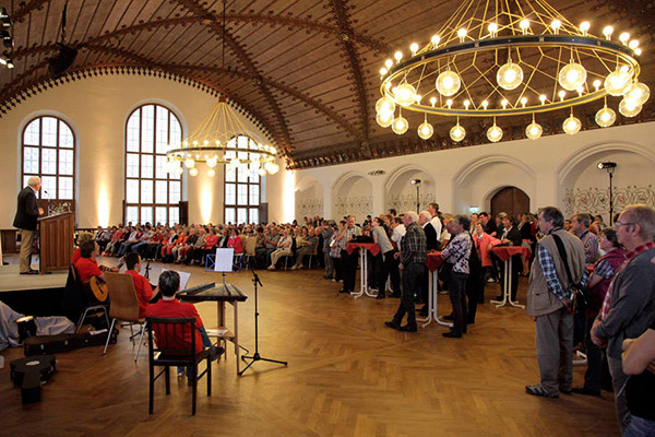 Beim Familien-Empfang in München 2012 waren viele Athleten mit ihren Familien da. (Foto: SOD/Florian Conrads)