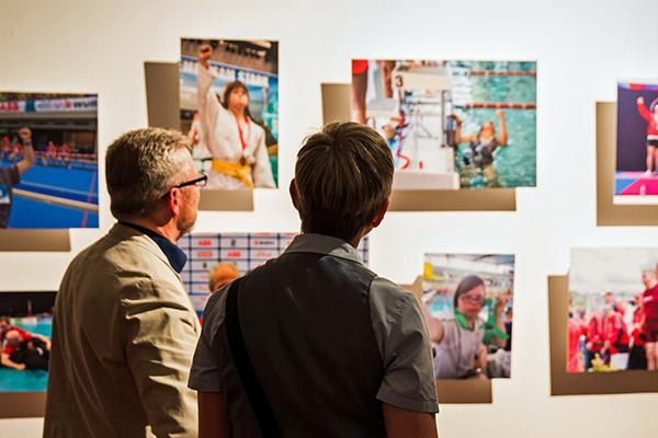 Foto vom Besuch der Foto-Ausstellung