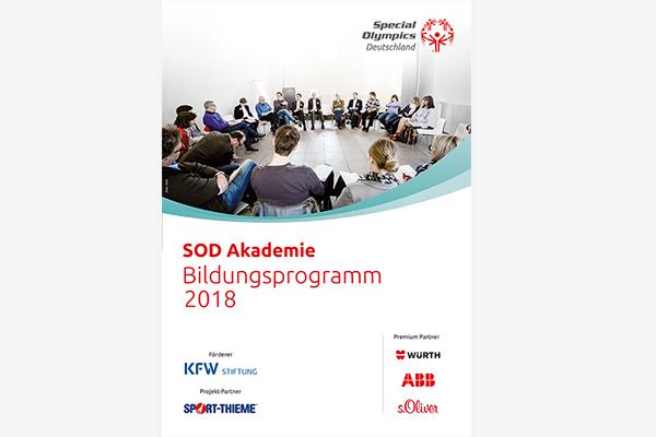 Bildungs-Programm SOD Akademie 2018