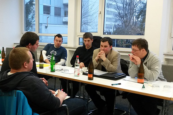 Im Fachausschuss sprechen die Athleten-Sprecher über viele Themen. (Foto:SOD)