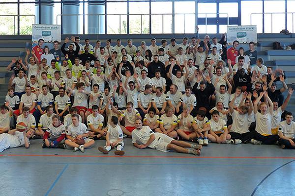 Beim Training in Essen waren viele Athleten dabei. (Foto: SO NRW)