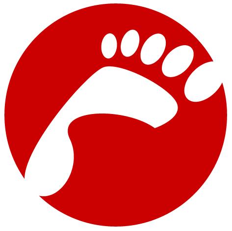 Symbol für Fitte Füße