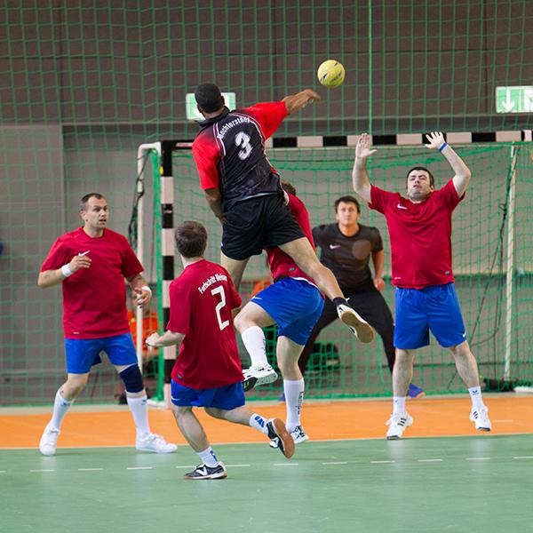 Sportart Handball. (Foto: SOD/ Stefan Holtzem)