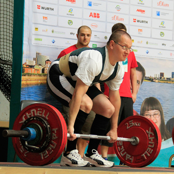 Sportart Kraftdreikampf. (Foto: SOD/ Andreas Bister)