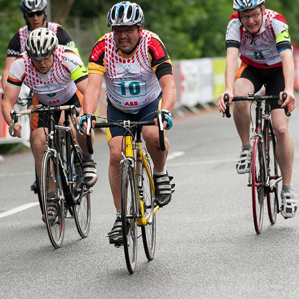 Sportart Radfahren. (Foto: SOD/ Julia Krüger)