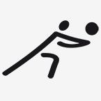 Zeichen für Volleyball