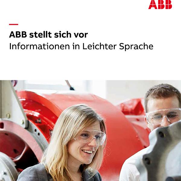 Infos zu ABB in Leichter Sprache